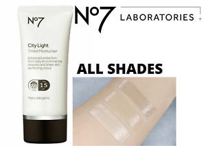 No7 City Light Tinted Moisturiser (50ml) All Shades Available