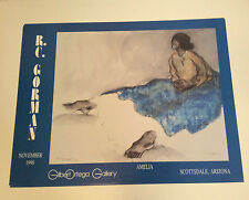 """RC GORMAN SIGNED Posters, """"AMELIA"""" 1977 Size is 23"""" X 30"""""""