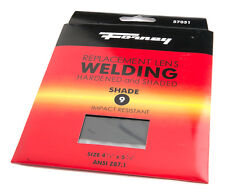 Pair of (2) Forney Industries 57051 Shade #9 Replacement Gas Welding Lens