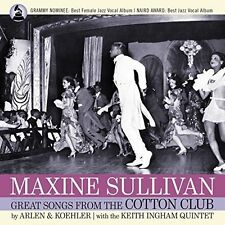 Harold Arlen / Maxin - Maxine Sullivan - Great Songs From The Cotton Club [New C