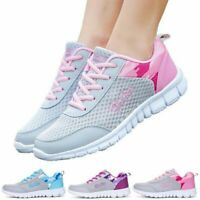 Size35-42 Womens Tennis Shoes Ladies Casual Athletic Breathable Sneakers Running