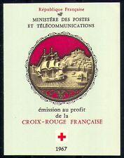 France 1967 Red Cross/Medical/Musicians 8v bklt  n29184