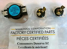New Oem Factory Whirlpool Dryer Thermal Fuse Kit Part 53-0771 53-1182 53-1096