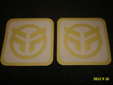 2 AUTHENTIC FEDERAL BMX BICYCLE FRAME STICKERS / DECALS #30 AUFKLEBER