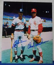 ED BRINKMAN & CHUCK BRINKMAN signed 8x10 DETROIT TIGERS & CHICAGO WHITE SOX