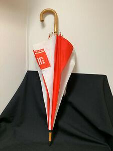 JBL UMBRELLA Vintage Pre Harman Orange & White Stripes. SWAG Rep Meeting