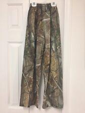 Gander Mountain Realtree PVC Plastic Waterproof Pants Kids Sz S Small 6-8? EUC