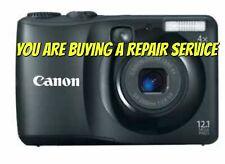 CANON A1200 CAMERA REPAIR SERVICE-60 DAY WARRANTY-FREE RETURN SHIPPING