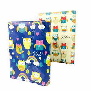 A6 Organiser Diary Pen Small Dividers Dates Planner Book Padded Fashion Journal