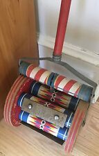 Fisher-Price ~ #123 ~ Roller Chimes ~ Vintage ~ Push Toy ~ Working