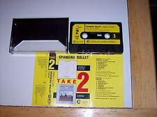 SPANDAU BALLET - JOURNEYS TO GLORY/DIAMOND, 1983 (CHRYSALIS TAKE 2 CASSETTE)