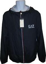 NEW Mens Emporio Armani Navy EA7 Decal Zip Up Jacket Size XLARGE (MI.F)