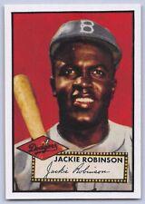 "1952 JACKIE ROBINSON - TOPPS ""REPRINT"" Baseball Card # 312 - BROOKLYN DODGERS"