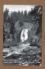 RPPC Mellen,Ashland County,WI Wisconsin Copper Falls State Park Brownstone Falls