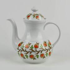 Vintage Kaffeekanne Wunsiedel Porzellan Bavaria Porcelaine - floral - Blumen