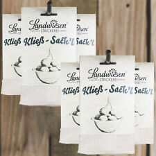 6 Kließ-Sack`l,Kloßsäcke Presssack Thüringer Klöße Kloßpresse,Kloßs* Kloßsack 1A