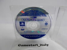 EYE TOY PLAY SPORTS SCES-54094 (SONY PS2) PROMO VERSION - PAL VERSION