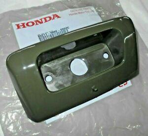 HONDA TRX250 250 RECON GREEN TOOLBOX DOOR, STORAGE BOX COVER,TAILLIGHT HOLDER