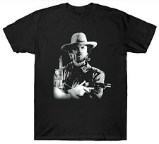 CLINT EASTWOOD T SHIRT COWBOY WILD WEST FILM MOVIE VINTAGE RETRO BIRTHDAY