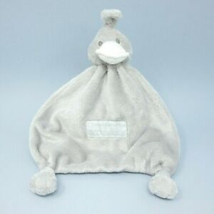 Bam Bam Baby grey Duck Tuttle comforter soother blankie blanket soft toy