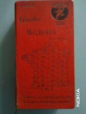 GUIDE MICHELIN ROUGE FRANCE 1926 COMPLET EN EXCELLENT  ETAT - 94 ANS D'AGE!