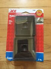 NEW ACE HARDWARE 2 inch Rubber Cups ~ 4 pieces ~ Furniture