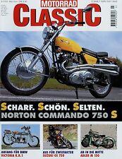 Motorrad Classic 3/00 2000 Suzuki GS 750 Aermacchi N MV Agusta 125 S Commando