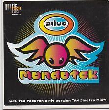 Alive-Mondo Tek cd maxi single 5 tracks cardsleeve