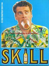 """Morgan Spiced """"Skill"""" 1997 Magazine Advert #4164"""