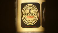 OLD BRITISH BEER LABEL, ALLIED BREWERY BURTON ON TRENT, GUINNESS STOUT TYPE 4