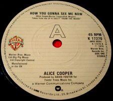 "Alice Cooper How You Gonna See Me Now 7""UK ORIG 1978 Warner Bros No Tricks VINYL"