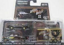 3er Set Smokey and the Bandit II ( Pontiac ) Greenlight 1:64