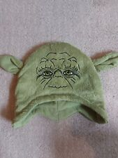 Star Wars Yoda Winter Green Hat Avon 8+ Kids