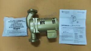 Bell & Gossett 1BL017LF Pump PL-50B Circulator 1/6 HP Circulating Radiant Boiler