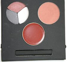 Smashbox LIGHTS ON SET Eye Shadow Trio, Blush, Lip Brilliance Full Sz Makeup Set