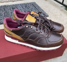Saucony X Wolverine Shadow 1000 Mile 11 Brown Leather Collab Sneaker