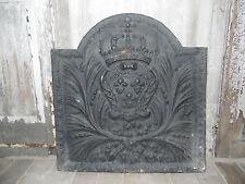 plaque de cheminée en fonte de fer XIX siècle