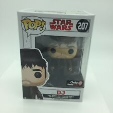 Funko Pop GameStop Exclusive DJ Star Wars The Last Jedi #207