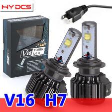 V16 H7 80W 6000K 9600LM with Cree Car LED Headlight Beam Bulbs Turbo Conversion