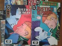 DC COMICS - JUSTICE LEAGUE INTERNATIONAL - 1988 - VARIOUS ISSUES