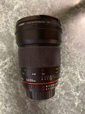 Samyang 24mm f/1 MF AS UMC ED Lens For Nikon