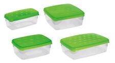 Contenitori e barattoli da cucina verde per congelatore
