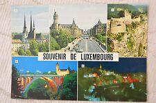 """CPM """" Souvenir de LUXEMBOURG - Différentes vues -"""