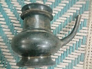 Old Vintage antique Solid  Bronze ISLAMIC Unique Ritual Holy Big Water Pot /Ewer