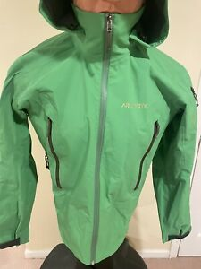 Arc'teryx Stingray emerald Jacket Men's Size Medium Shell