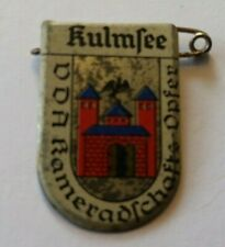 WHW / VdA : Städtewappen - Kulmsee