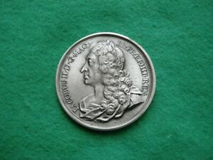 JAMES II DASSIER CROWN SIZE MEDAL PEWTER FINISH BY THE LONDON MINT