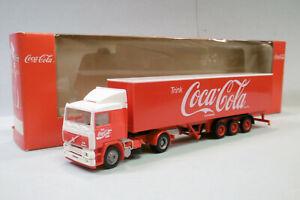 Albedo - Camion VOLVO F12 Coca-Cola rouge semi-remorque BO HO 1/87