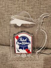 Vintage Pabst Blue Ribbon Lighted Beer Stein Sign Rare Working