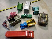 Vintage Marx Wyandotte Tin Pressed Steel Toy Trucks Japan Tin Toy Lot